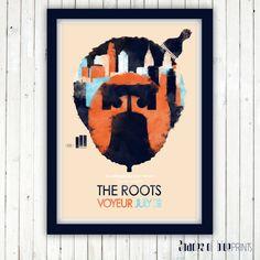 Affiche Questlove présente The Roots Live in Philadelphia - 3 juillet 2012