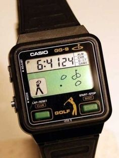 Casio Gamewatch Golf