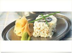 Sushi med tun og purløg