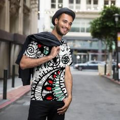 A beautiful and unique unisex tee - full print that is perfect for your collection! Shop artistic unisex tee - full print's created by designers all around the world. Yoga Capris, Round Pendant, Cashmere Scarf, Swirls, My Outfit, Design Trends, Custom Made, Unisex, Tees