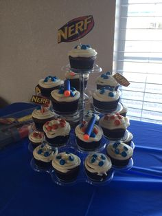 Miguel's nerf cupcakes