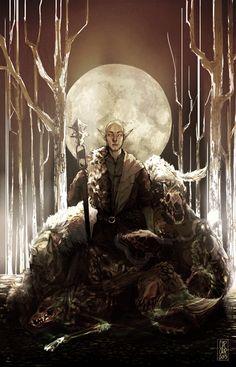 """11""""x17"""" color print on 110lb paper. Solas - Dragon Age: Inquisition"""