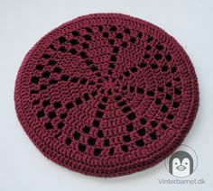 Crochet Placemats, Crochet Doilies, Crochet Stitches, Diy And Crafts, Art Drawings, Homemade, Embroidery, Quilts, Deco