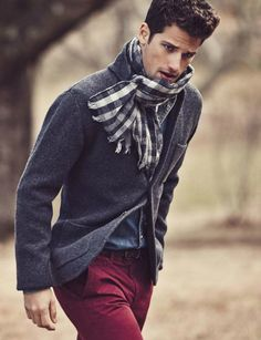 ♂ Masculine and Elegance man's fashion apparel man with scarf Lexington F/W 2013