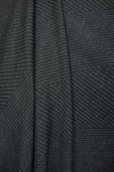 Marcy Tilton - Knit Fabrics - Charcoal Pathways Ponte detail