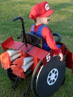 Caleb's Wheelchair Halloween Costumes 7