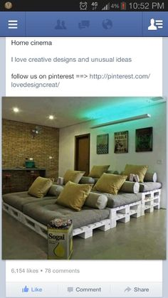 Neat  House idea   MADE OUT OF PALLETS  1133 |Beautiful Living Spaces|