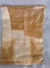 cotton kaftan/abeya/jilbab one size.full length Mustard Shade