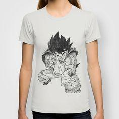 Goku T-shirt by DeMoose - $22.00 FREE Worldwide Shipping Today! Dragon Ball Z