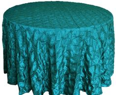 "120"" Pinchwheel Taffeta Tablecloth - Oasis 66958(1pc/pk)"