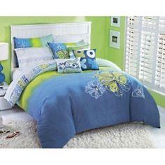 tropical design roxy bedding for girls
