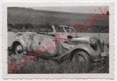 I541 Foto Wehrmacht BMW cabrio PKW Auto Cabrio Wimpel Stander in Sammeln & Seltenes, Militaria, 1918-1945 | eBay