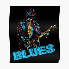 Blue Poster, Canvas Prints, Art Prints, Photographic Prints, Art Boards, Blues, My Arts, Hero, Play