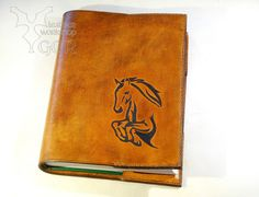 Leather cover for nootebook or calendar. A5 size, hand sewing. #leather, #leatherwork, #nootebook, # cover, #leather carving