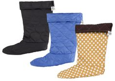 #TwoAlity has 3 new liner bundles online!!! Be sure to check them out! This bundle is black, periwinkle and camel polka-dot with espresso binding! #BootsByTwoAlity #ClearBoots #InterchangeableLiners http://thetwoalitystore.com/browse/liners