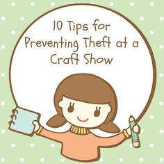 10 useful tips for preventing theft at a craft show or farmers' market