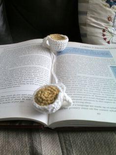Tea cup bookmark