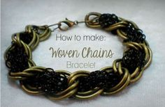 More Woven Chain Jewelry Tutorials ~ The Beading Gem's Journal