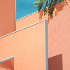 Wallpaper Backgrounds Aesthetic - Pink and orange color palette. Orange Aesthetic, Aesthetic Colors, Aesthetic Pictures, Colour Architecture, Minimalist Architecture, Photo Wall Collage, Picture Wall, Photowall Ideas, Orange Color Palettes