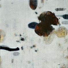 David Kidd Density of States 2011 Acrylic on Birch Panel 36 x 36 x 2