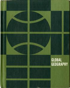 Global Geography –vintage book cover