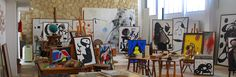 Artist and Studio Joan Miro's studio in Mallorca  (Source: miro.palmademallorca.es)