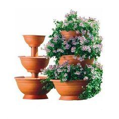 Květináč kaskáda velká 25+35+50 teracota