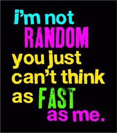 Exactly! (: