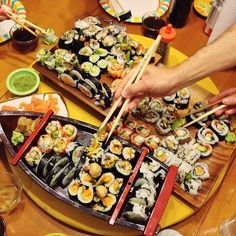 How to Throw a Homemade Sushi Party | Mary Makes Dinner
