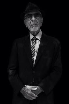 Une minute Leonard Cohen