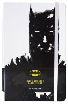 Moleskine Batman Limited Edition Large Ruled White Hard Cover