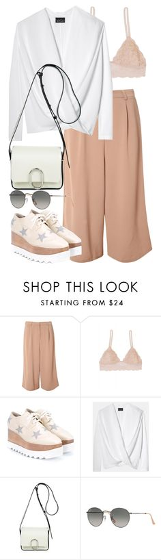 """""""Untitled #2728"""" by elenaday ❤ liked on Polyvore featuring Glamorous, Humble Chic, STELLA McCARTNEY, 3.1 Phillip Lim and Ray-Ban"""