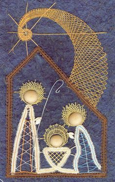 bobbin lace making patterns for beginners String Art Templates, Bobbin Lace Patterns, Swedish Weaving, Nativity Crafts, Lacemaking, Lace Heart, Weaving Textiles, Point Lace, Tatting Lace