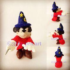 "Mickey Mouse magician apprendice in ""Fantasia"""