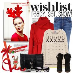 """Christmas sweater"" by stacy-gustin on Polyvore"
