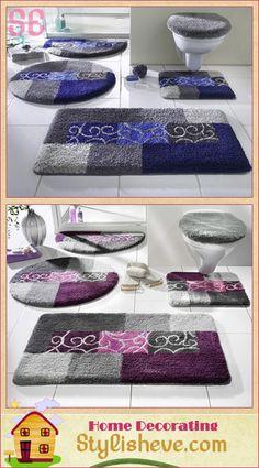 Luxury Bathroom Rug Sets