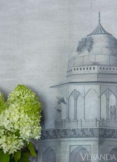 panoramic de Gournay wallpaper.