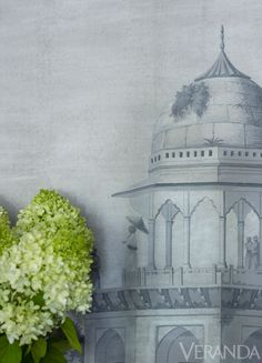 panoramic de Gournay wallpaper.