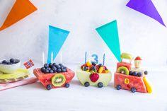 Pimp opp bursdagen med dette digge melontoget! Snacks, Appetizers, Treats