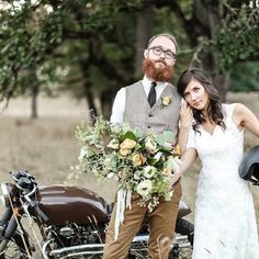 One of my favoritest couples of all time giving me all the #throwbackthursday feels 🌿 Photo by the talented @ashlie.rene and @bryonnealdaniels of SLF Weddings