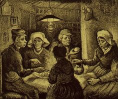 Van Gogh Museum - The potato eaters
