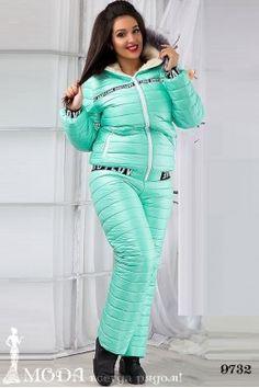 Лыжный костюм для полных 9732 Лыжные костюмы и комбинезоны оптом по низким ценам Sweaters, Pants, Dresses, Fashion, Vestidos, Moda, Trousers, Pullover, Sweater