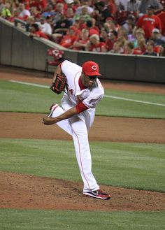 Chapman throws the heat when they need him to!! I've never seen his pitches go under 94mph ❤️⚾️