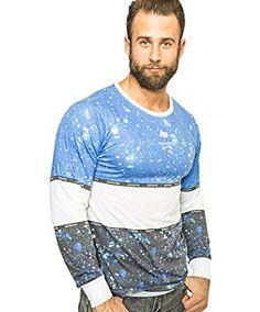 Hype T-Shirt - Long Sleeve - Invert Splat Hype Clothing, Shirt Dress, T Shirt, Long Sleeve Shirts, Sweatshirts, Sleeves, Mens Tops, Shopping, Clothes