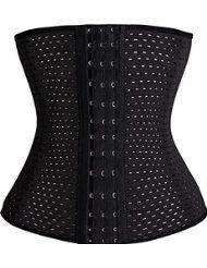 3dfafab0192e7 Women Breathable Waist Tummy Training Shaper Corset Belt Workout Waist  Trainer