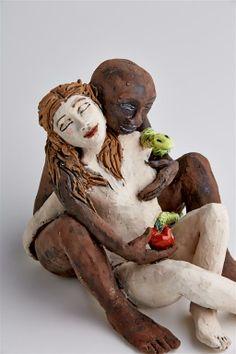 Eve and Adam http://www.maureenvisage.co.za/