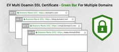 EV Multi-Domain SSL Certificate - The solution for increasing customer's confidence for multiple websites, business conversion & save money and time. #evmultidomain #sslcert