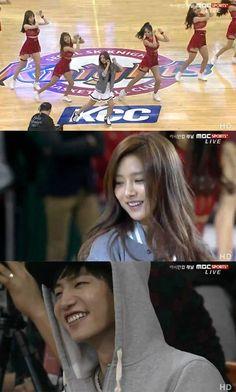 Song Jae Rim and Kim So Eun