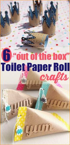 When your family finishes a roll of TP, do you toss it or save it for crafting? If your toilet paper tube stash is larger t...
