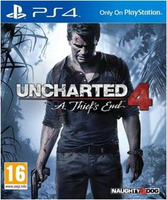 Uncharted comes to the PlayStation A Thief's EndSeveral years after his last adventure, retired fortune hunter, Nathan Drake, is forced… Nathan Drake, Xbox 360, Wii, Playstation Games, Ps4 Games, Games Consoles, Sony, Uncharted A Thief's End, Uncharted Series